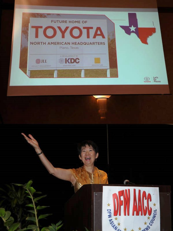 Consulate general of japan in houston english topics for Toyota motor north america inc plano texas
